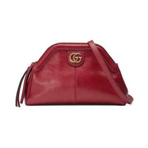 Gucci Shoulder Small Re(Belle) Red Leather